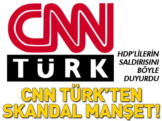 HDP'NİN SALDIRISINI BÖYLE DUYURDU