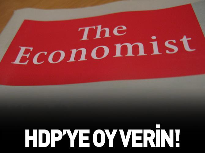 THE ECONOMİST: CHP BECEREMEDİ HDP'YE OY VERİN