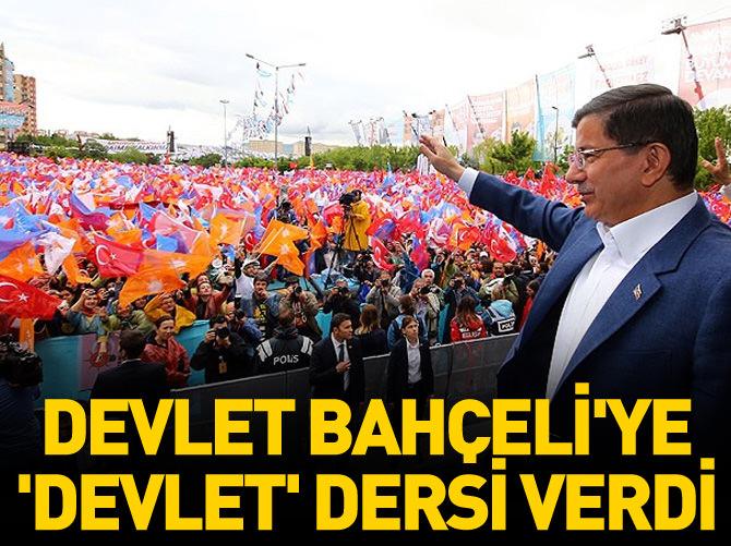 DEVLET BAHÇELİ'YE 'DEVLET' DERSİ