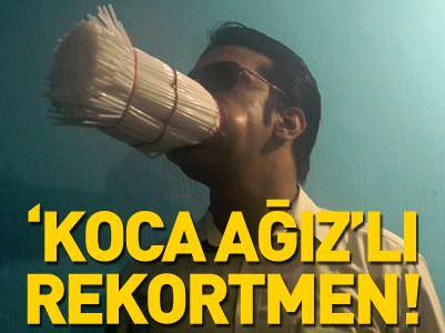 KOCA AĞZIYLA 48 REKOR KIRDI!
