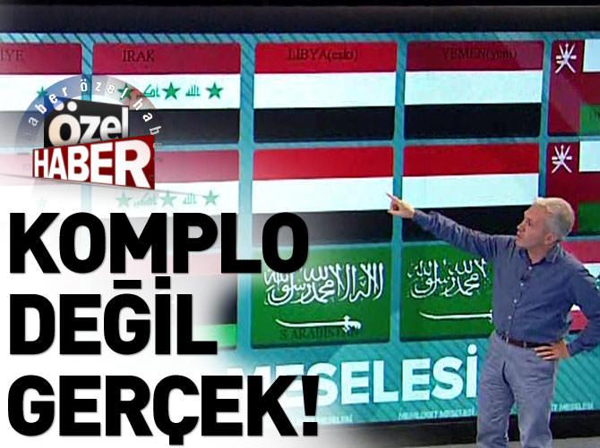 İSLAM ÜLKELERİNE 'BAYRAK' DİZAYNI