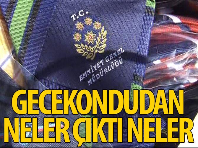 GECEKONDUDAN ÇIKANLAR POLİSLERİ ŞAŞIRTTI!