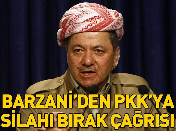 BARZANİ'DEN PKK'YA SİLAHI BIRAK ÇAĞRISI