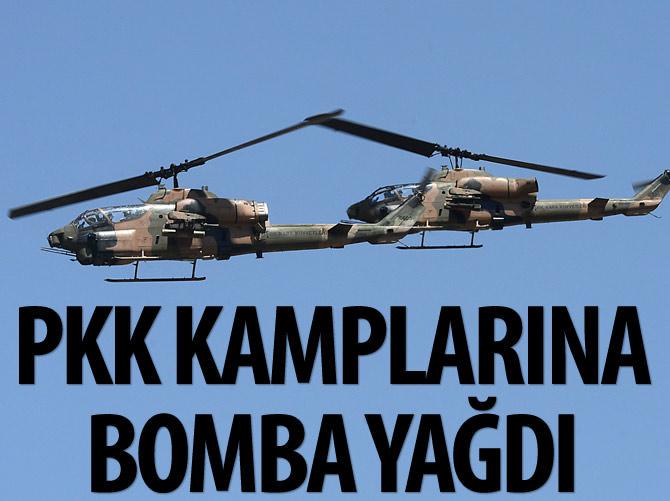 KOBRALAR PKK KAMPLARINA BOMBA YAĞDIRDI