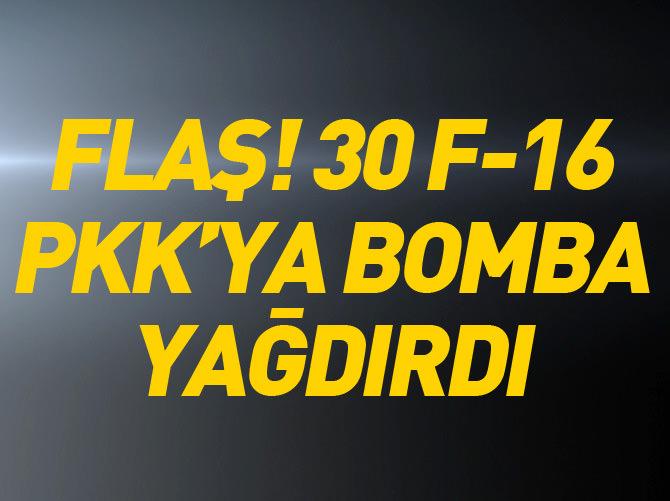 30 F-16 İLE OPERASYON