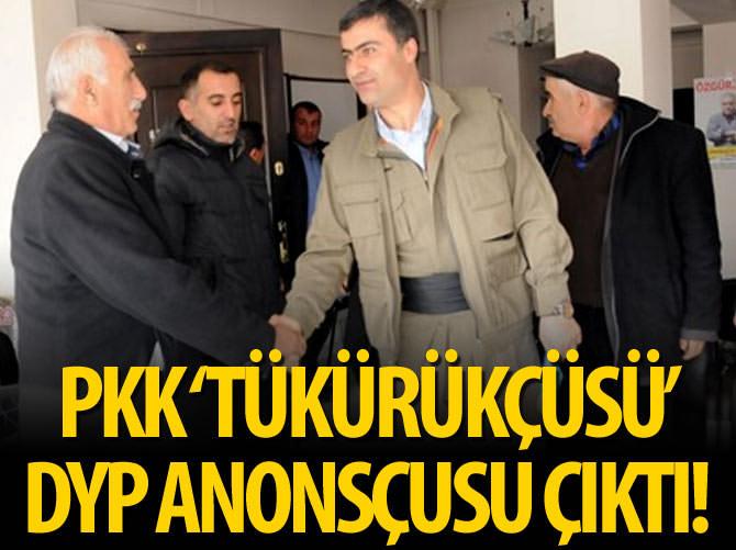 DYP'NİN ANONSÇUSUYDU PKK 'TÜKÜRÜKÇÜSÜ' OLDU