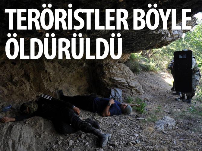 TERÖRİSTLERİN KORKULU RÜYASI 'BORALAR'