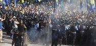 UKRAYNA'DA 'ÖZERKLİK' EYLEMİ: 1 ÖLÜ, 122 YARALI
