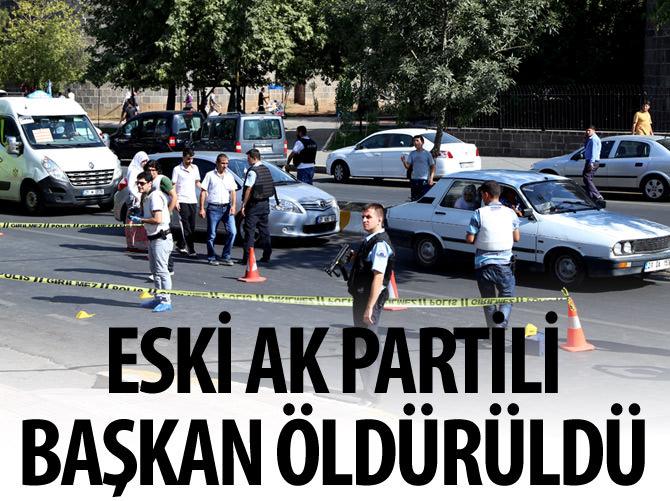 ESKİ AK PARTİLİ BAŞKAN ÖLDÜRÜLDÜ
