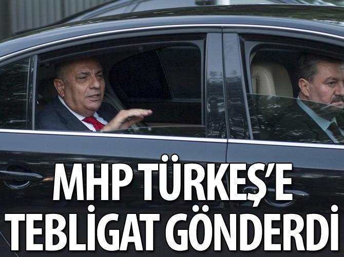 MHP TÜRKEŞ'E TEBLİGATI GÖNDERDİ