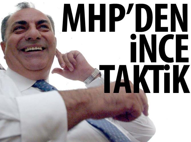 MHP'DEN 'İHRAÇ' İÇİN İNCE TAKTİK