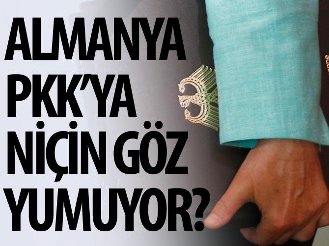 ALMANYA PKK'YA NİÇİN GÖZ YUMUYOR?