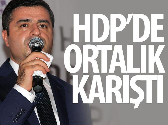 HDP'DE ORTALIK KARIŞTI