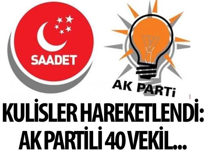 SAADET PARTİSİ'NDEN İLGİNÇ AÇIKLAMA