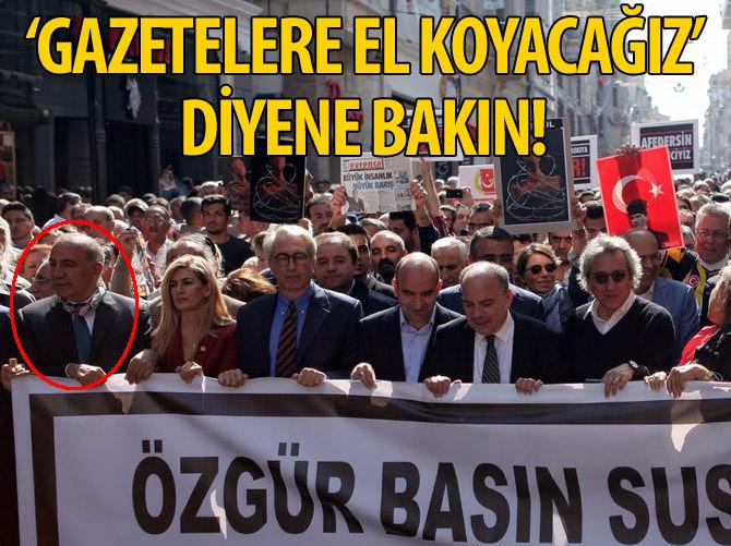 'GAZETELERE EL KOYACAĞIZ' DİYENE BAKIN!