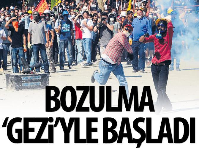 EKONOMİK GÖSTERGELERDE BOZULMA 'GEZİ' İLE BAŞLADI
