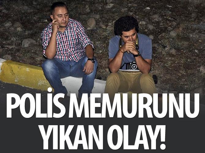 POLİS MEMURUNU YIKAN OLAY!