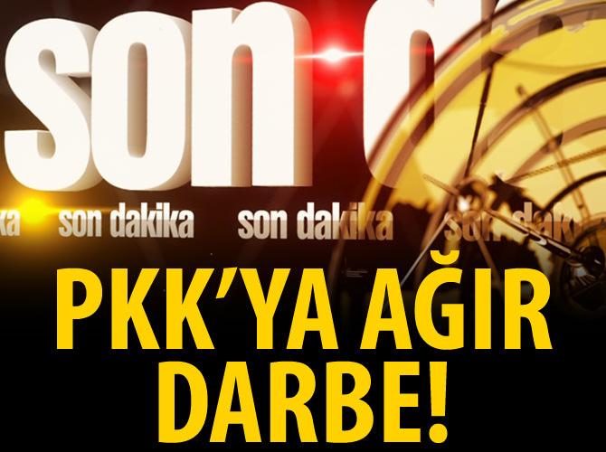 PKK'YA AĞIR DARBE!