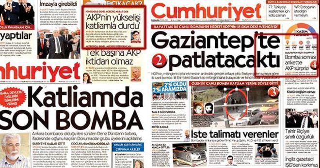 CUMHURİYET GAZETESİ OKUYUCUSUYLA DALGA GEÇİYOR!