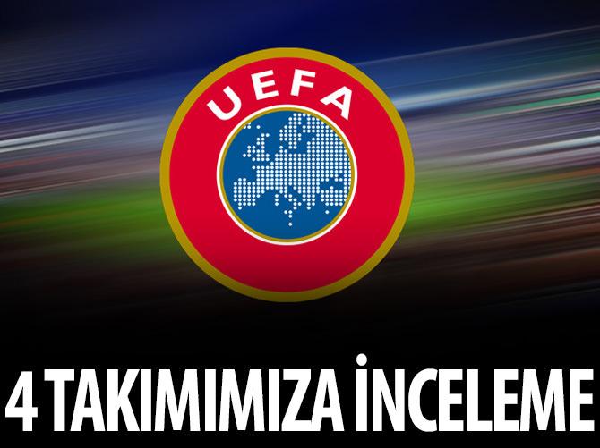 UEFA 4 TÜRK TAKIMINI İNCELİYOR