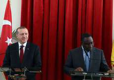 Cumhurbaşkanı Erdoğan Senegal'de