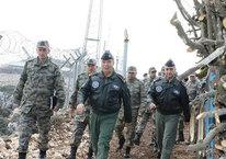 Hava Kuvvetleri Komutanı Suriye sınırında