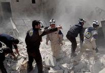 Ruslar Halep'te yerleşim yerini vurdu: 10 ölü