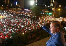 Erdoğan sahaya iniyor