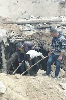 Siirt'te ev çöktü: 3 kişi öldü
