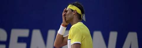 Son şampiyon Nadal yarı finalde elendi