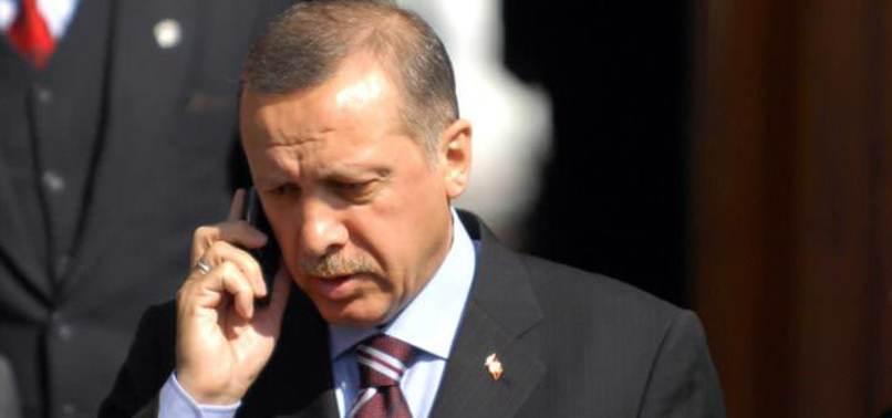 CUMHURBAŞKANI ERDOĞAN'DAN GÜREŞÇİLERE TEBRİK TELEFONU