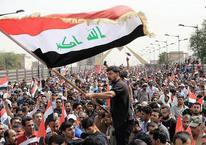 Irak'ta Parlamentoya baskın