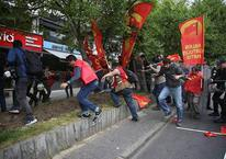 Taksim'de TOMA'lı polis müdahalesi