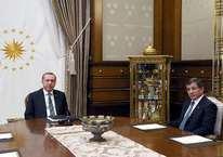 Erdoğan ve Davutoğlu görüşmesi başladı