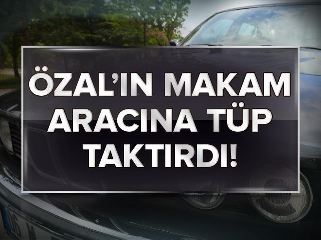 Turgut Özal'ın otomobili alıcı bekliyor
