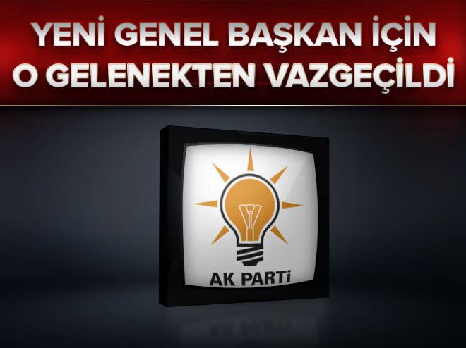 AK Parti yeni genel başkanı istişareyle seçecek