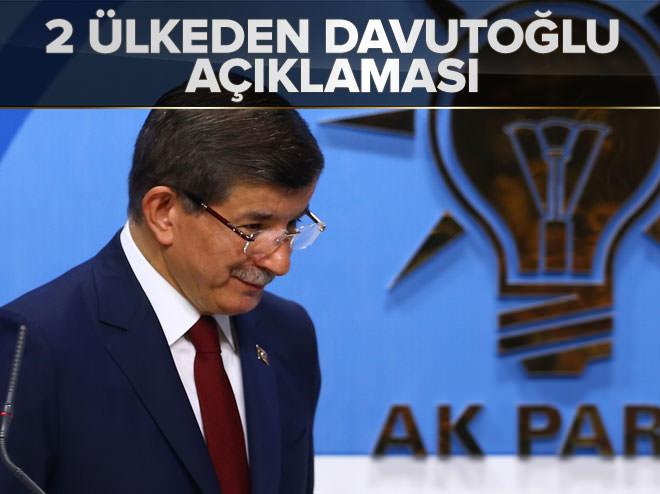 ABD ve Rusya'dan Davutoğlu açıklaması