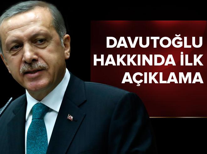 Cumhurbaşkanı, Davutoğlu hakkında ilk kez konuştu