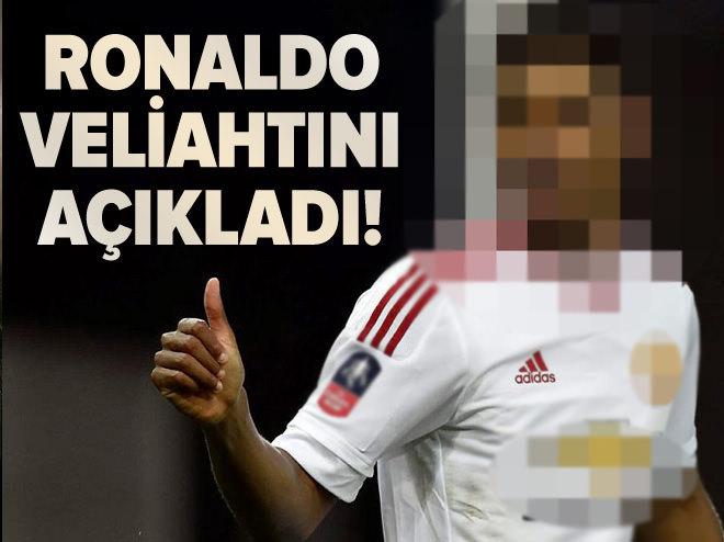 Ronaldo veliahtını açıkladı!