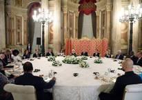 Erdoğan'ın yemeğine sadece o katılmadı
