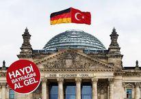 Almanya'da Türklerden büyük protesto!