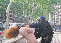 Dünya medyası şidette Fransız!