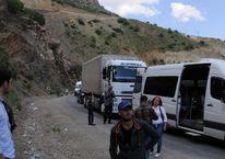 Vatandaşlar yollara döküldü