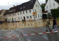 Almanya'yı sağanak yağış vurdu