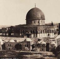 156 yıl önce Kudüs ve Mescid-i Aksa