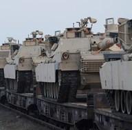 ABD tankları Karadeniz kıyısında