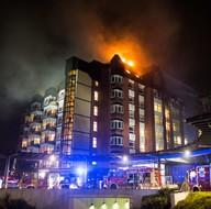 Almanya'nın Bochum kentinde korkutan hastane yangını