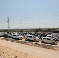 Beyt Hanun Sınır Kapısı'nda 9 yıl sonra bir ilk