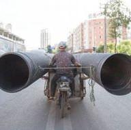 Çin yolları işte bu yüzden çok tehlikeli!