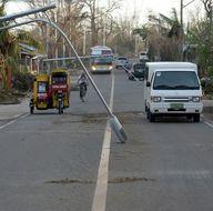 Filipinler tayfunla boğuşuyor